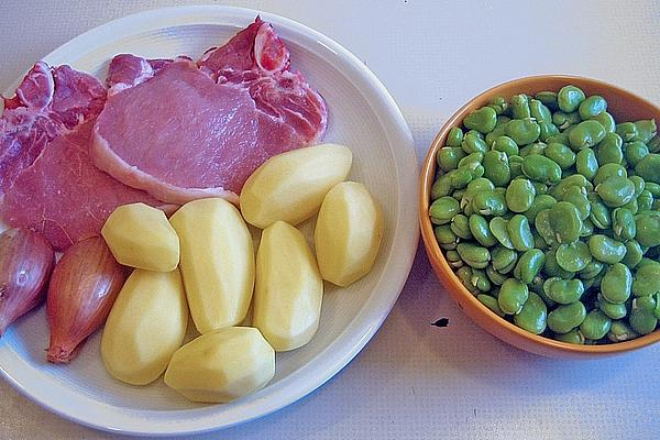 Broad Beans As Side Dish