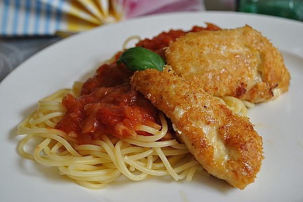 Chicken Piccata with Tomato Sauce