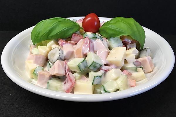 Colorful Cheese – Sausage – Salad
