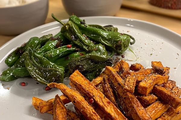 Crispy Fried Sweet Potato Fries