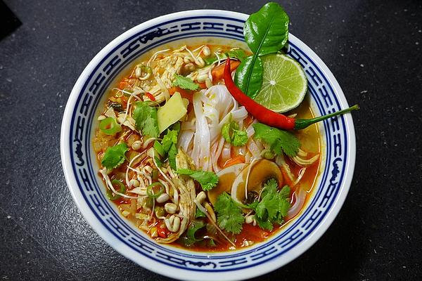 Khao Poon Soup from Laos