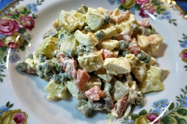 Lithuanian Salad