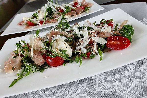Mediterranean Rocket Salad