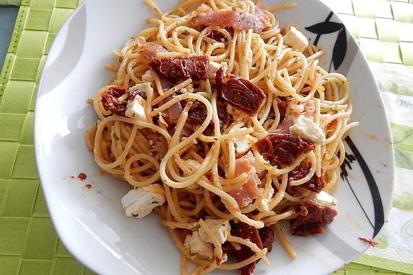 Mediterranean Spaghetti or Pizza Spaghetti