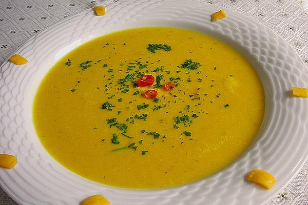Pumpkin Soup from Mexico