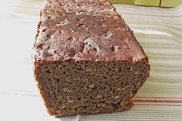 Wholemeal Black Beer Bread