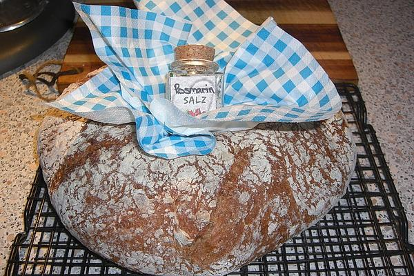 Wholemeal Rye Bread with Sourdough