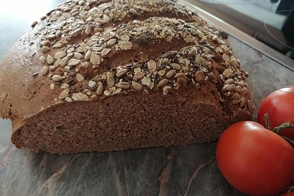 Wholemeal Spelled Bread with Sourdough
