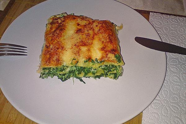 Cannelloni Agli Spinaci E Ricotta