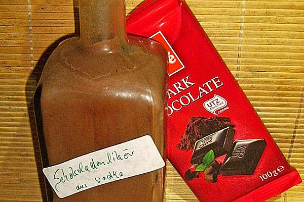 Chocolate Liqueur Made from Vodka