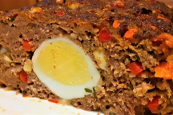 Colorful Party Meatloaf