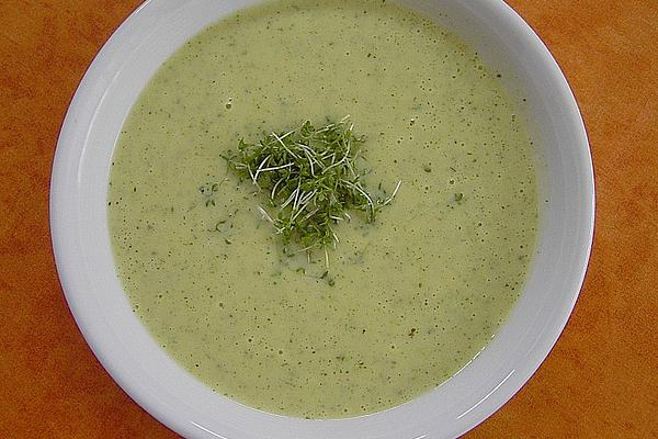 Cress Soup from Thermomix