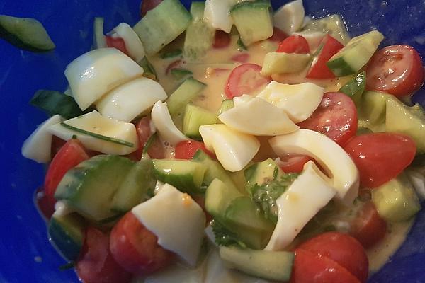 Crumbly Egg Salad