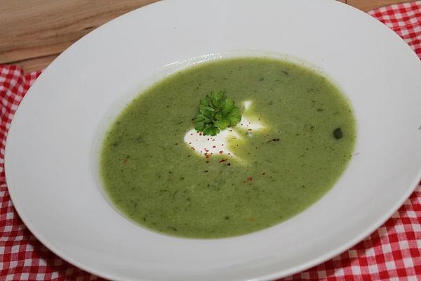 Easy Potato and Wild Garlic Soup