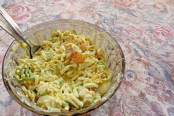 Eggs – Leek Salad