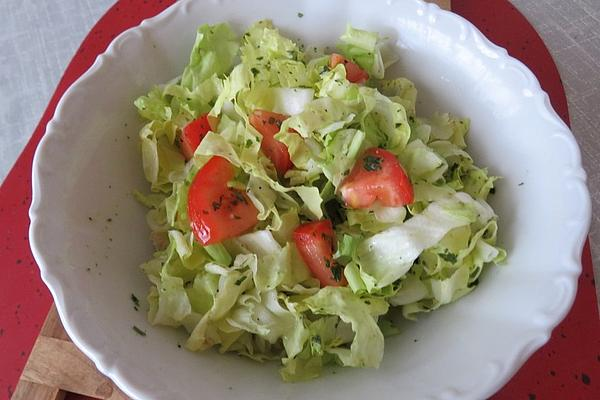 Endive Salad with Tomatoes