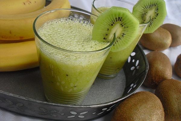 Green Kiwi Banana Smoothie