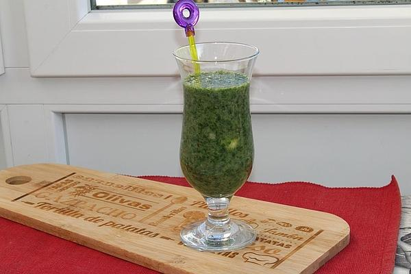 Green Smoothie Spinach-banana