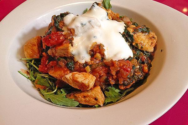 Indian Chicken Saag – Chicken Breast Fillet with Spinach