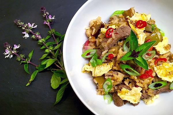 Khao Pad Muh – Fried Rice with Pork