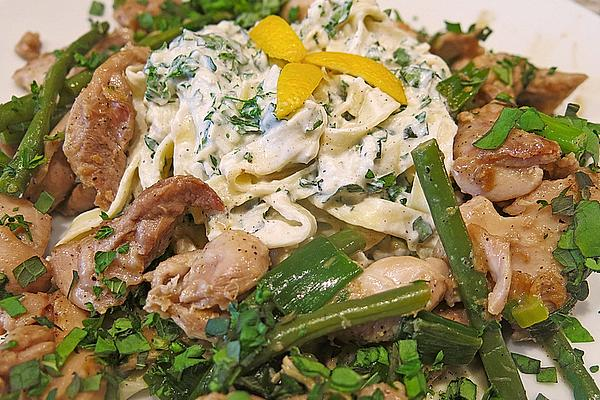 Parmesan Lemon Chicken with Fresh Herbs