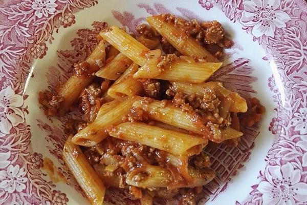 Pasta Asciutta Alla Anne – According To Grandma`s Recipe