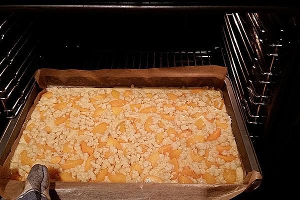 Peach – Streusel Cake from Sheet