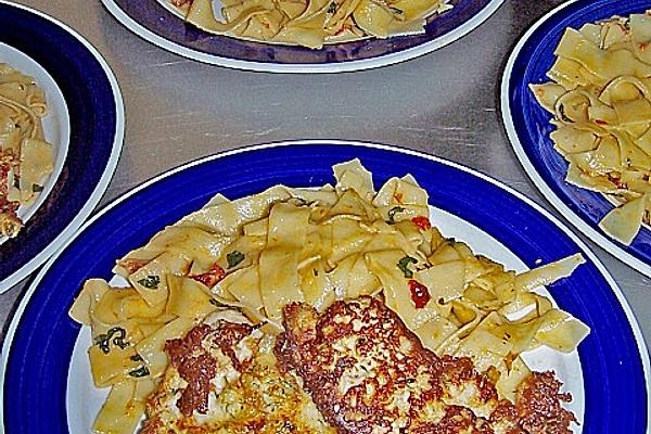 Piccata from Turkey