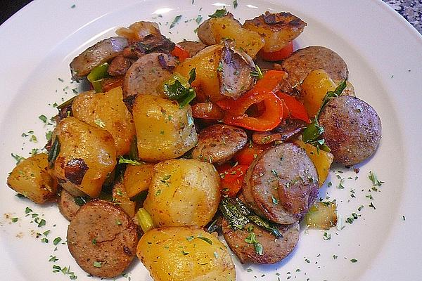 Potato Sausage Pan