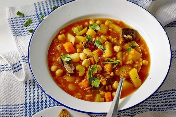 Ramadan Soup from Morocco