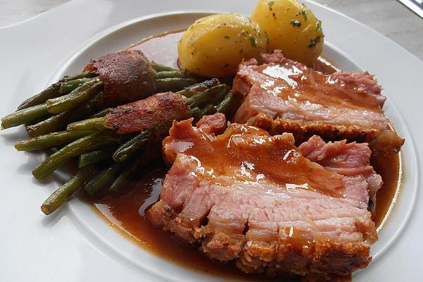 Roast Pork in Onion – Beer – Sauce