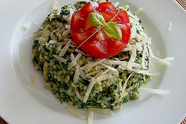 Spinach – Chicken – Risotto