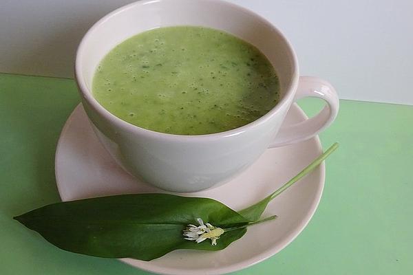 Styrian Wild Garlic Cream Soup