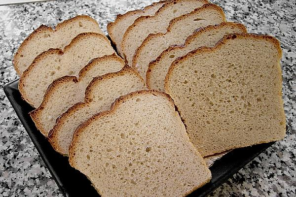White Bread in Box and Something That Has Been Pushed Away