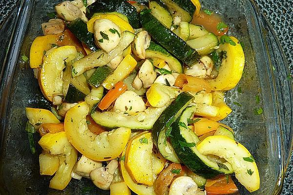 Zucchini Salad Mediterranean