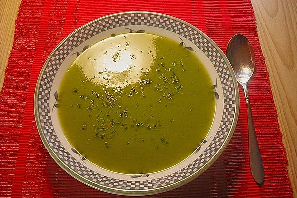 Zucchini Soup from Microwave