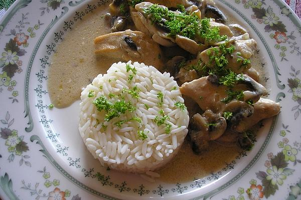 Chicken Breast in Mushroom Cream