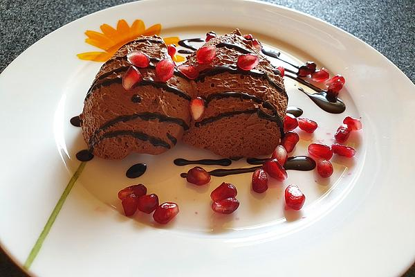 Chocolate Mousse with Chili and Chambord