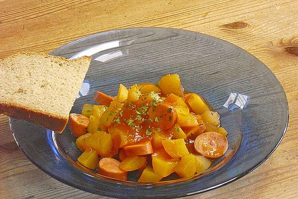 Potato Sausage Goulash