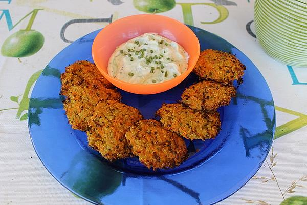 Quinoa and Carrot Fritters
