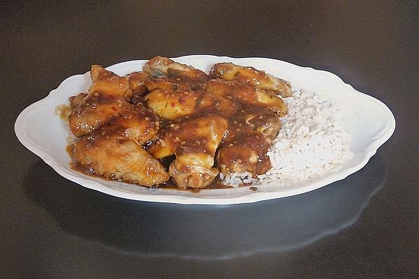 Sharp Chicken Wings À La Kai