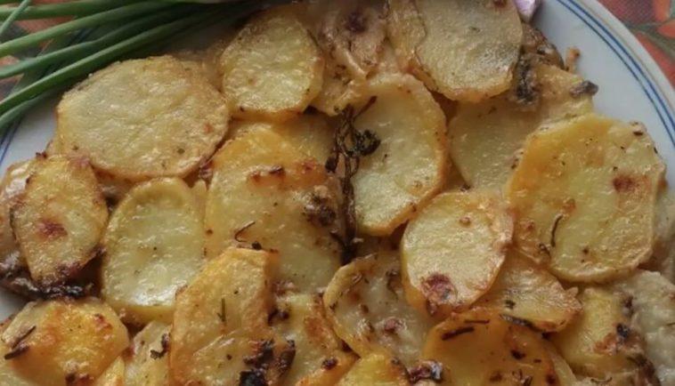 Crispy Potato Frittata without Eggs