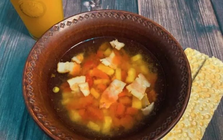 Minestrone Soup with Bacon