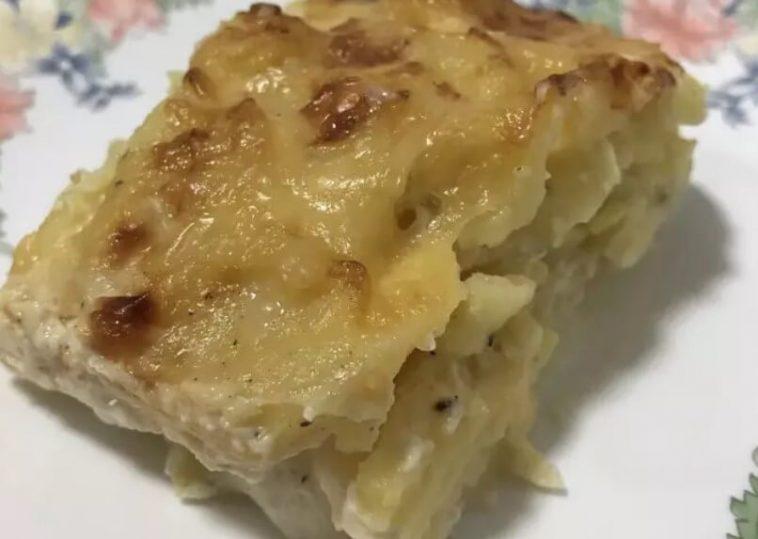 French Potato Gratin Dauphinoise