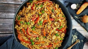 Khao Pat Gai / Fried Rice with Chicken